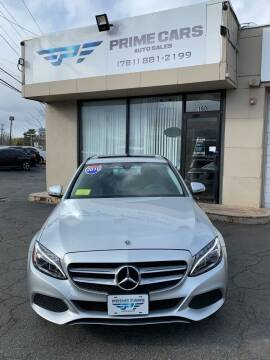 2018 Mercedes-Benz C-Class for sale at Prime Cars Auto Sales in Saugus MA