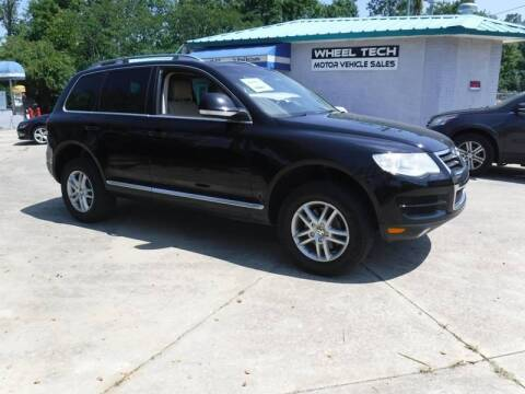 2010 Volkswagen Touareg for sale at Wheel Tech Motor Vehicle Sales in Maylene AL