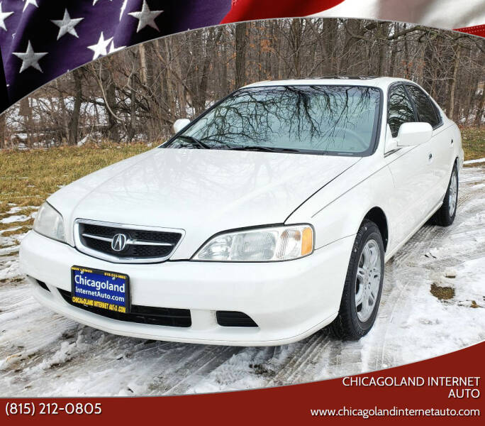 2000 Acura TL for sale at Chicagoland Internet Auto - 410 N Vine St New Lenox IL, 60451 in New Lenox IL