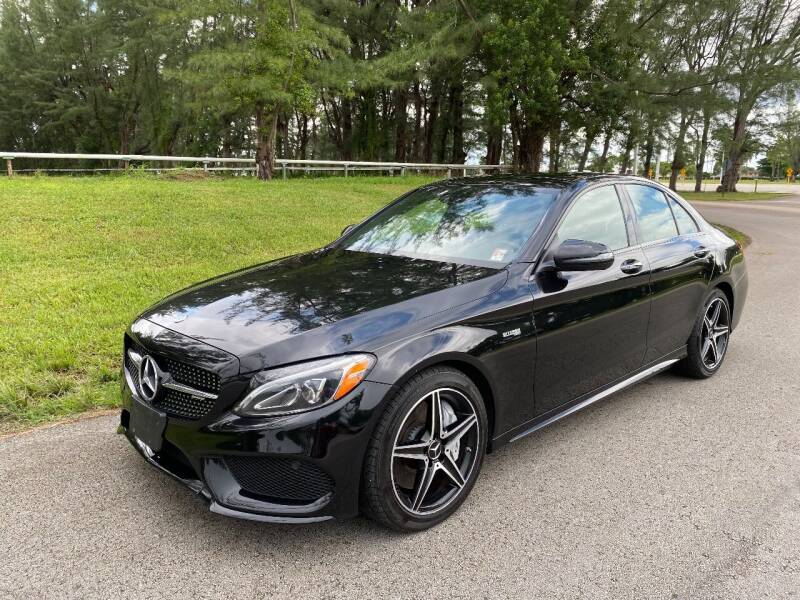 2018 Mercedes-Benz C-Class for sale at Nation Autos Miami in Hialeah FL