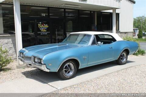 1968 Oldsmobile Cutlass for sale at Corvette Mike New England in Carver MA