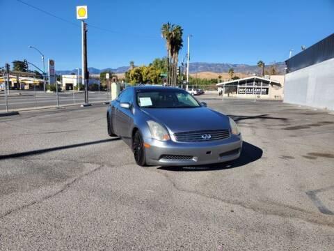 2005 Infiniti G35 for sale at Silver Star Auto in San Bernardino CA