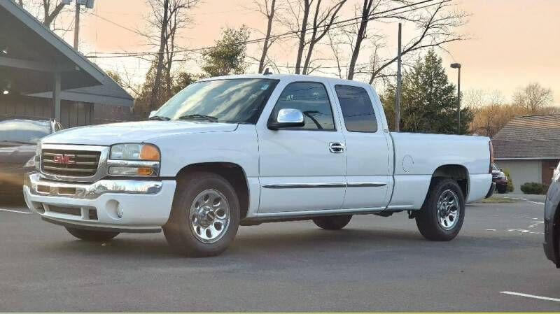 2007 GMC Sierra 1500 Classic for sale at Broadway Motor Car Inc. in Rensselaer NY