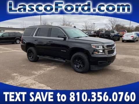 2018 Chevrolet Tahoe for sale at LASCO FORD in Fenton MI
