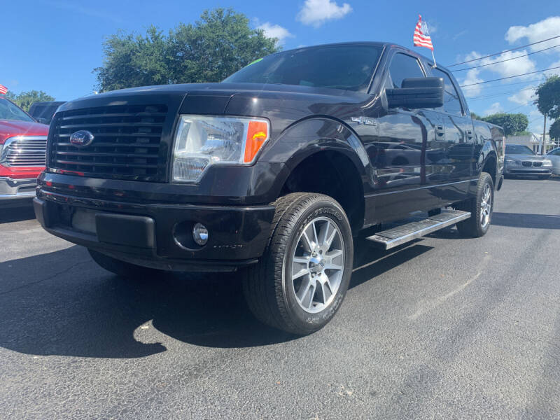 2014 Ford F-150 for sale at Bargain Auto Sales in West Palm Beach FL