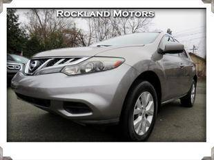 2012 Nissan Murano for sale at Rockland Automall - Rockland Motors in West Nyack NY