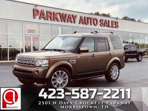 2012 Land Rover LR4 for sale at Parkway Auto Sales, Inc. in Morristown TN
