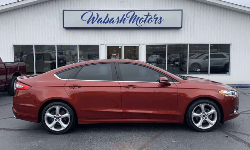 2014 Ford Fusion for sale at Wabash Motors in Terre Haute IN