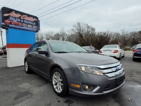 2011 Ford Fusion for sale at Auto Outlet Sales and Rentals in Norfolk VA