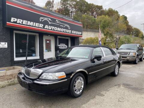 2009 Lincoln Town Car for sale at Premier Automotive Group in Pittsburgh PA