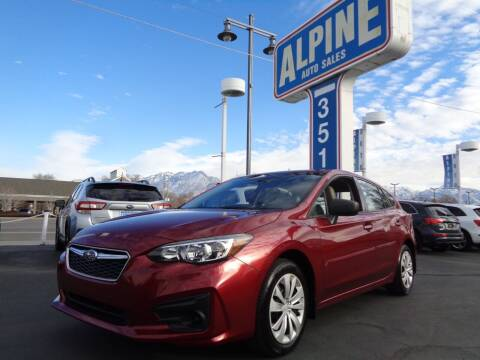 2017 Subaru Impreza for sale at Alpine Auto Sales in Salt Lake City UT