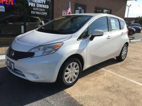 2016 Nissan Versa Note for sale at Bankruptcy Car Financing in Norfolk VA