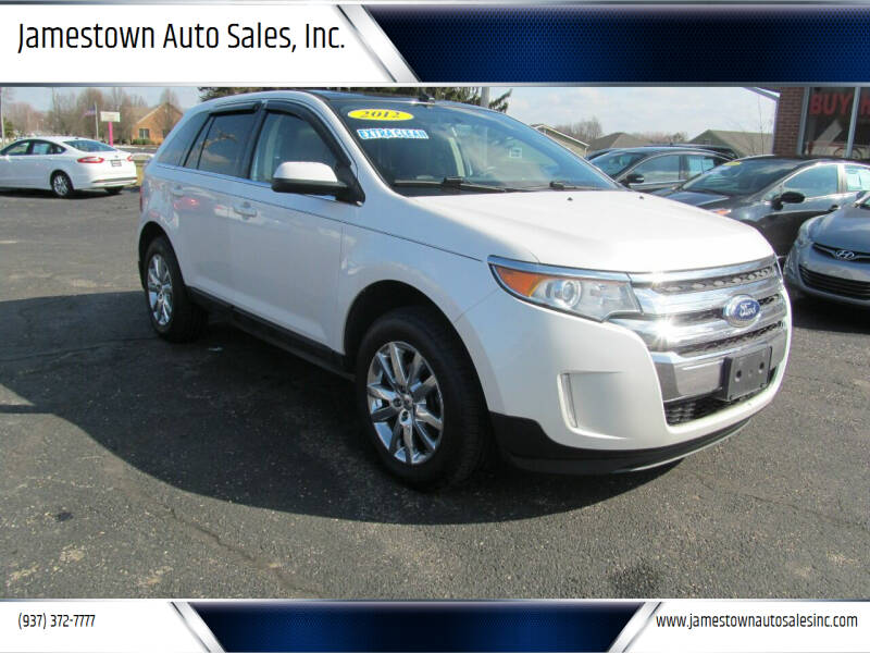 2012 Ford Edge for sale at Jamestown Auto Sales, Inc. in Xenia OH