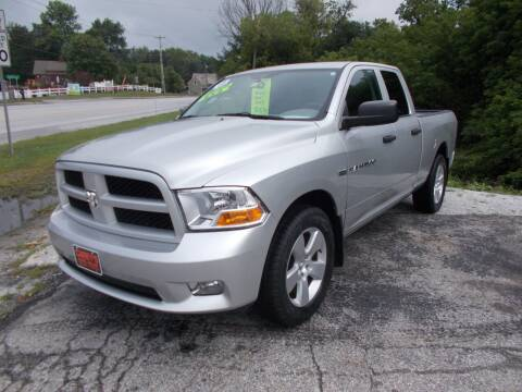 2012 RAM Ram Pickup 1500 for sale at Careys Auto Sales in Rutland VT