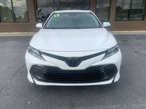 2018 Toyota Camry for sale at East Carolina Auto Exchange in Greenville NC
