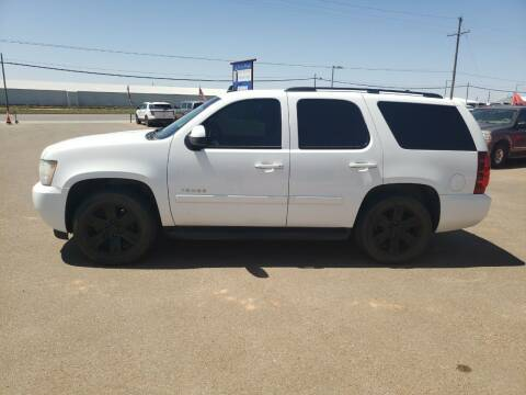 2008 Chevrolet Tahoe for sale at South Plains Autoplex by RANDY BUCHANAN in Lubbock TX