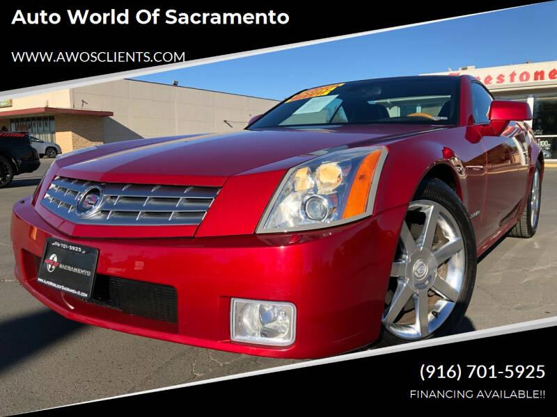2004 Cadillac XLR for sale at Auto World of Sacramento Stockton Blvd in Sacramento CA