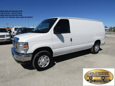 2012 Ford E-Series Cargo for sale at AML AUTO SALES - Cargo Vans in Opa-Locka FL