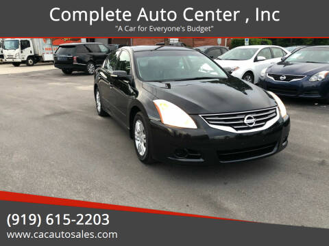 2011 Nissan Altima for sale at Complete Auto Center , Inc in Raleigh NC