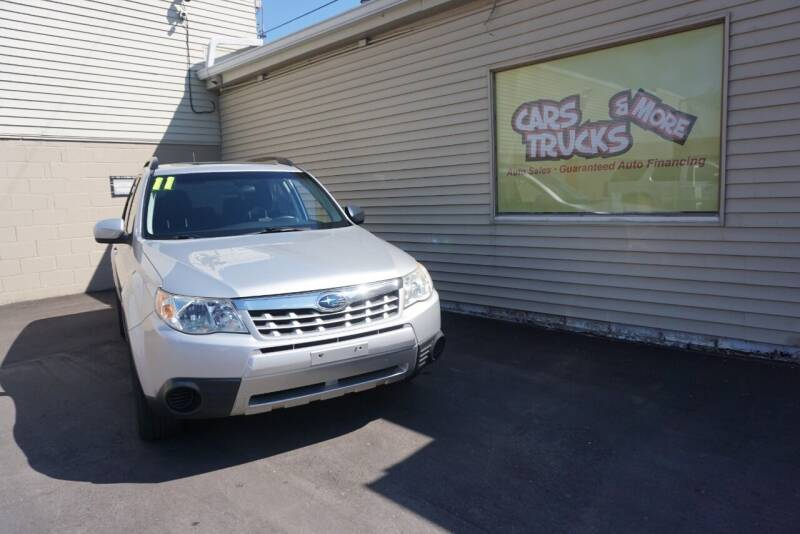 2011 Subaru Forester for sale at Cars Trucks & More in Howell MI