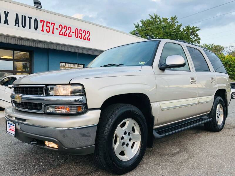 2006 Chevrolet Tahoe for sale at Trimax Auto Group in Norfolk VA