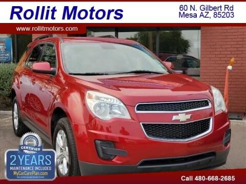 2013 Chevrolet Equinox for sale at Rollit Motors in Mesa AZ