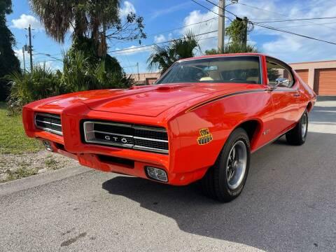 1969 Pontiac GTO for sale at American Classics Autotrader LLC in Pompano Beach FL