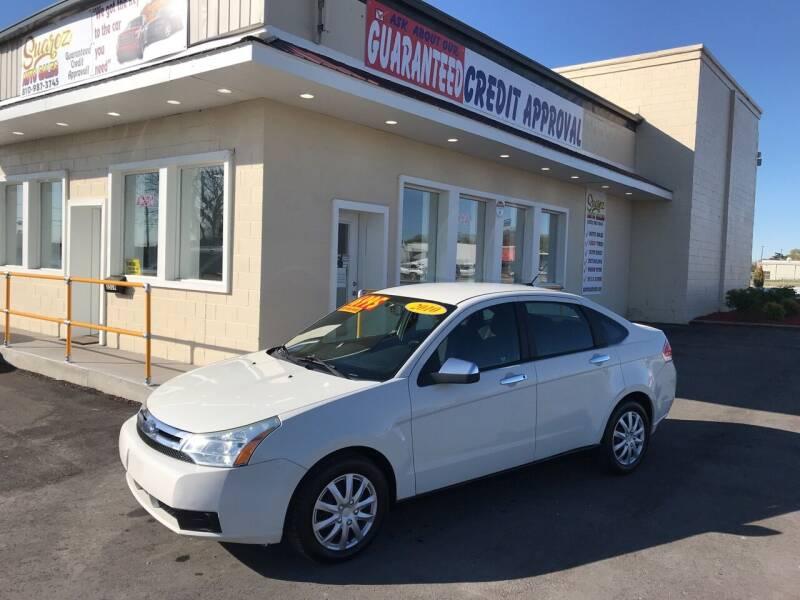 2010 Ford Focus for sale at Suarez Auto Sales in Port Huron MI