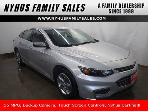 2017 Chevrolet Malibu for sale at Nyhus Family Sales in Perham MN