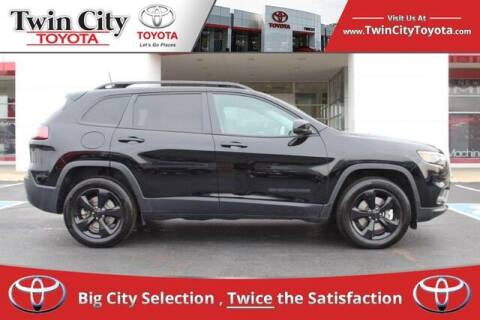 2019 Jeep Cherokee for sale at Twin City Toyota in Herculaneum MO