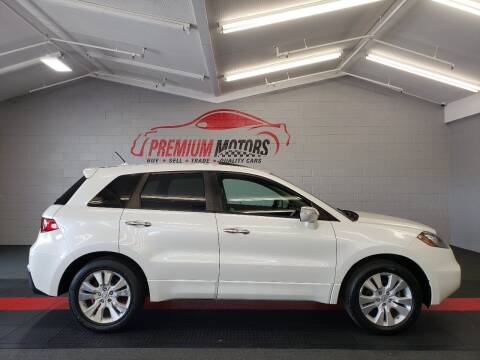 2010 Acura RDX for sale at Premium Motors in Villa Park IL