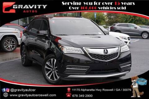 2015 Acura MDX for sale at Gravity Autos Roswell in Roswell GA