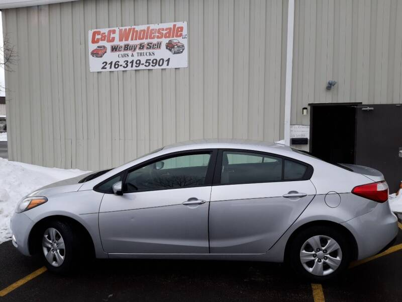 2016 Kia Forte for sale at C & C Wholesale in Cleveland OH