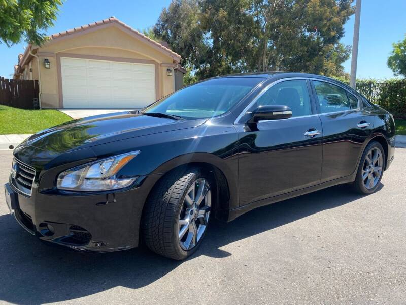 2014 Nissan Maxima for sale at CALIFORNIA AUTO GROUP in San Diego CA