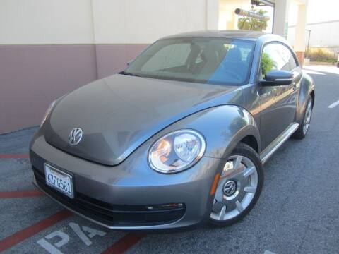 2012 Volkswagen Beetle for sale at PREFERRED MOTOR CARS in Covina CA