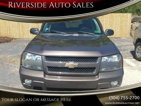 2008 Chevrolet TrailBlazer for sale at Riverside Auto Sales in Saint Albans WV