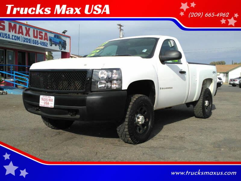 2007 Chevrolet Silverado 1500 for sale at Trucks Max USA in Manteca CA