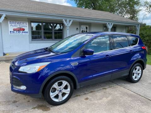 2013 Ford Escape for sale at Brewer's Auto Sales in Greenwood MO