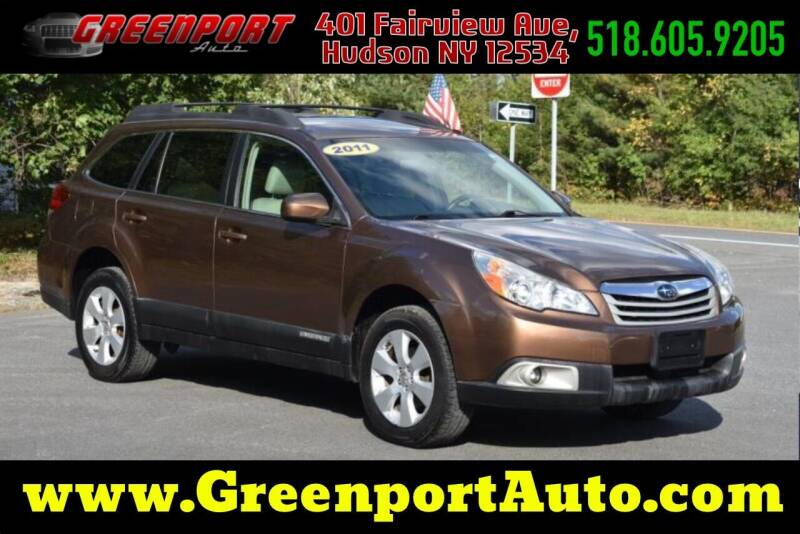 2011 Subaru Outback for sale at GREENPORT AUTO in Hudson NY