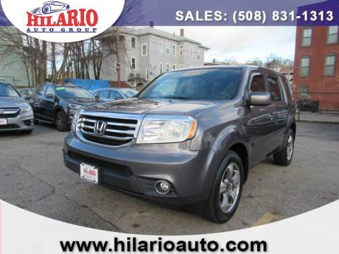 2015 Honda Pilot for sale at Hilario's Auto Sales in Worcester MA