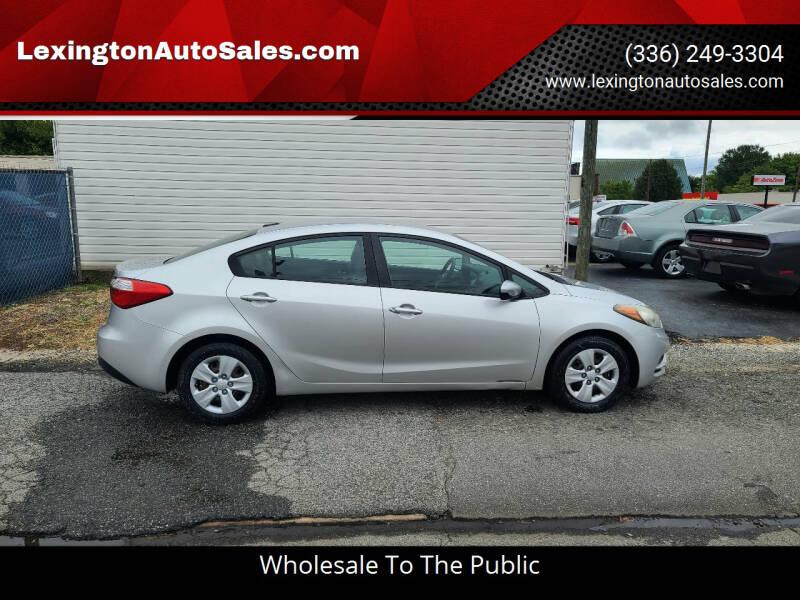 2015 Kia Forte for sale at LexingtonAutoSales.com in Lexington NC