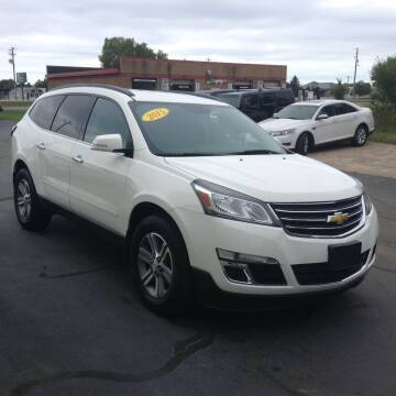 2015 Chevrolet Traverse for sale at Bruns & Sons Auto in Plover WI