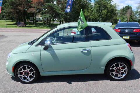 2015 FIAT 500 for sale at GEG Automotive in Gilbertsville PA