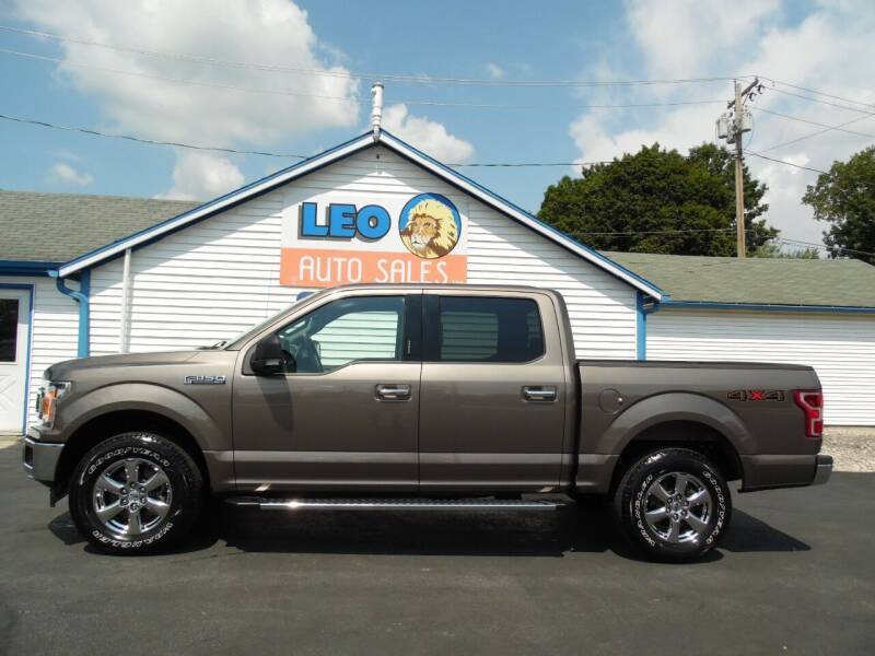 2020 Ford F-150 for sale at Leo Auto Sales in Leo IN