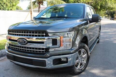 2018 Ford F-150 for sale at OCEAN AUTO SALES in Miami FL