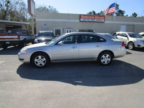 2008 Chevrolet Impala for sale at DERIK HARE in Milton FL