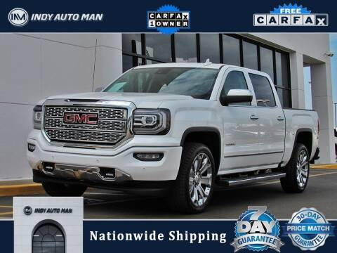 2018 GMC Sierra 1500 for sale at INDY AUTO MAN in Indianapolis IN