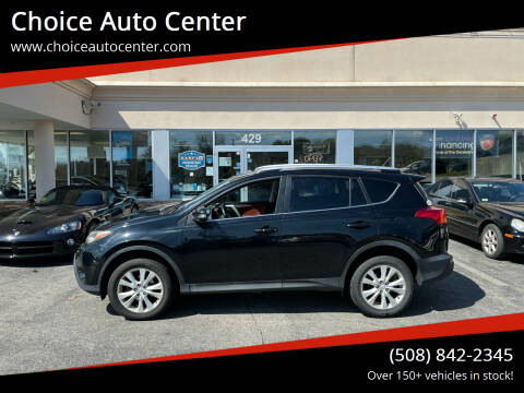 2015 Toyota RAV4 for sale at Choice Auto Center in Shrewsbury MA