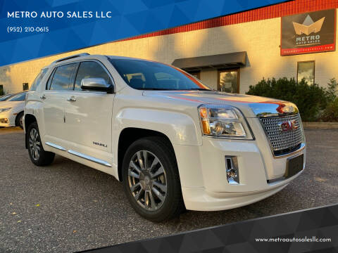 2016 GMC Terrain for sale at METRO AUTO SALES LLC in Blaine MN