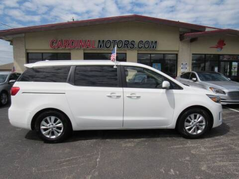 2015 Kia Sedona for sale at Cardinal Motors in Fairfield OH